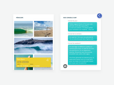 Surf market widget web periscope forecast bot gaia surf