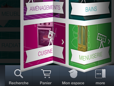 app design transition transition fold bend ios app design