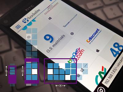 m.Backelite : references list webdesign ui mobile tablet smartphone corporate references list responsive design