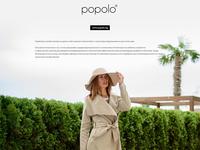 Popolo web design
