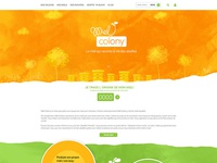 Honey web site design 1
