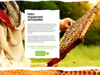 Honey web site design 9