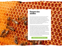 Honey web site design 10