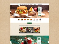 Aladin Foods web design