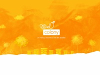 MielColony web site design