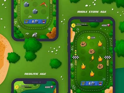 Merge game game design game