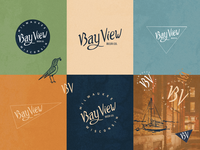 Bay View Beer Company | Brand Exploration bay view milwaukee sean quinn brewing beer typography hand drawn vector branding logo design drawing illustration