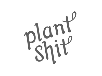 Root Exudates or a compelling call to action? lettering mark logo plant