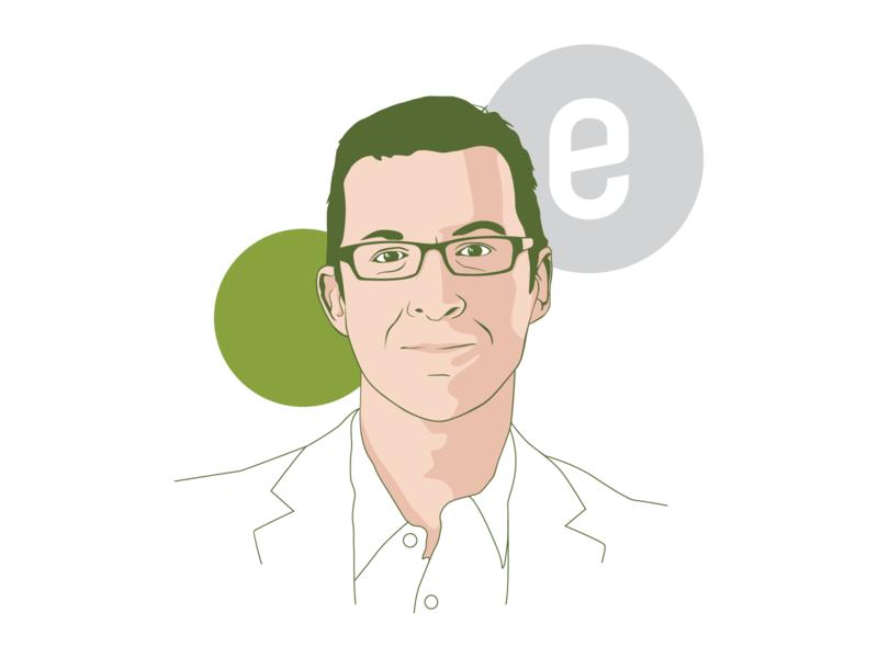 Ensia Team Illustrations design vecto newsletter editorial magazine headshot illustrator ensia team portrait drawing illustration vector