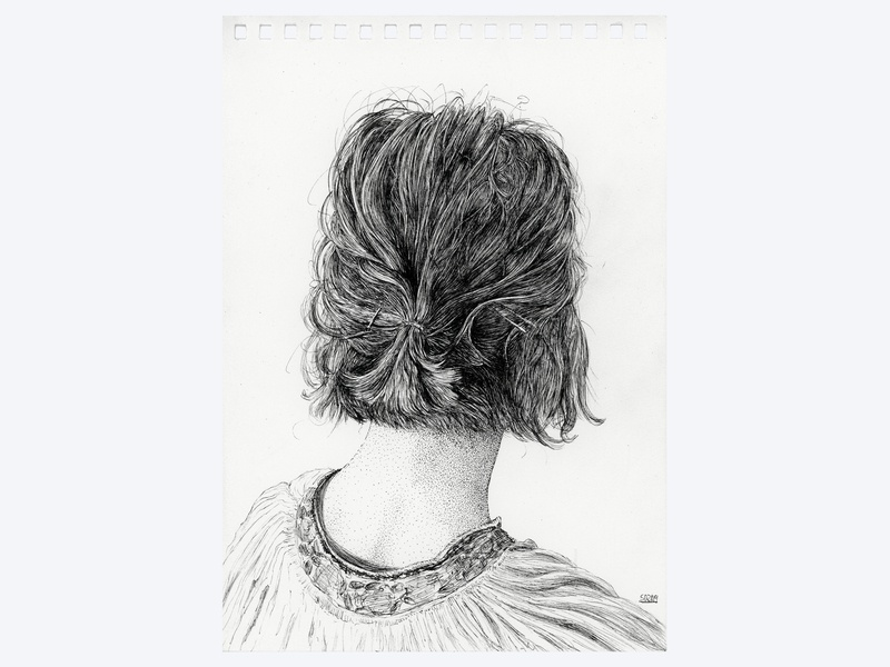 May 19 | Playlist Cover Art artist skin line formal traditional micron art hair girl stipple hand drawn ink drawing ink illustration pen ink drawing illustration sean quinn