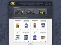 Falcon Fitness Website