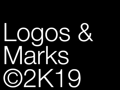 Logos & Marks 2019 logoset logodesigner logotype portfolio black logodesign gallery behance logos