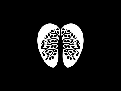 Apple tree logodesign leaves rorschach logo simple symbol tree apple