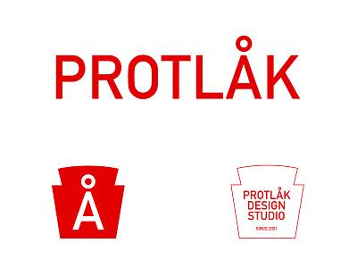 Protlak protlak tomato sauce vector branding symbol logodesign typography design logo simple