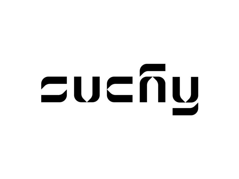Suchy branding logodesign custom bw design minimal typography logo simple