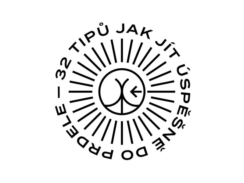 32 tips on how to go successfully fuck yourself mark black illustration minimal logo typography branding vector logodesign design symbol simple