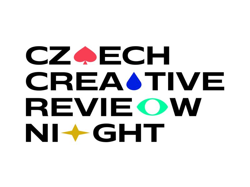 Czech Creative Review Night talk portfolio night czech review event minimal branding logodesign design typography logo