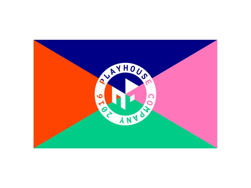 Playhouse house play mark branding logodesign typography design symbol simple logo