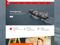 Vodafone : Website