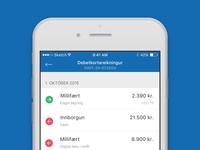 Arion banki : iOS app