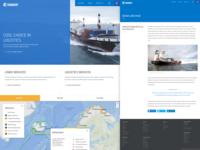 Eimskip : Website