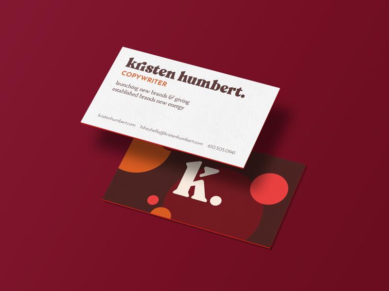 Kristen Humbert / Business Card