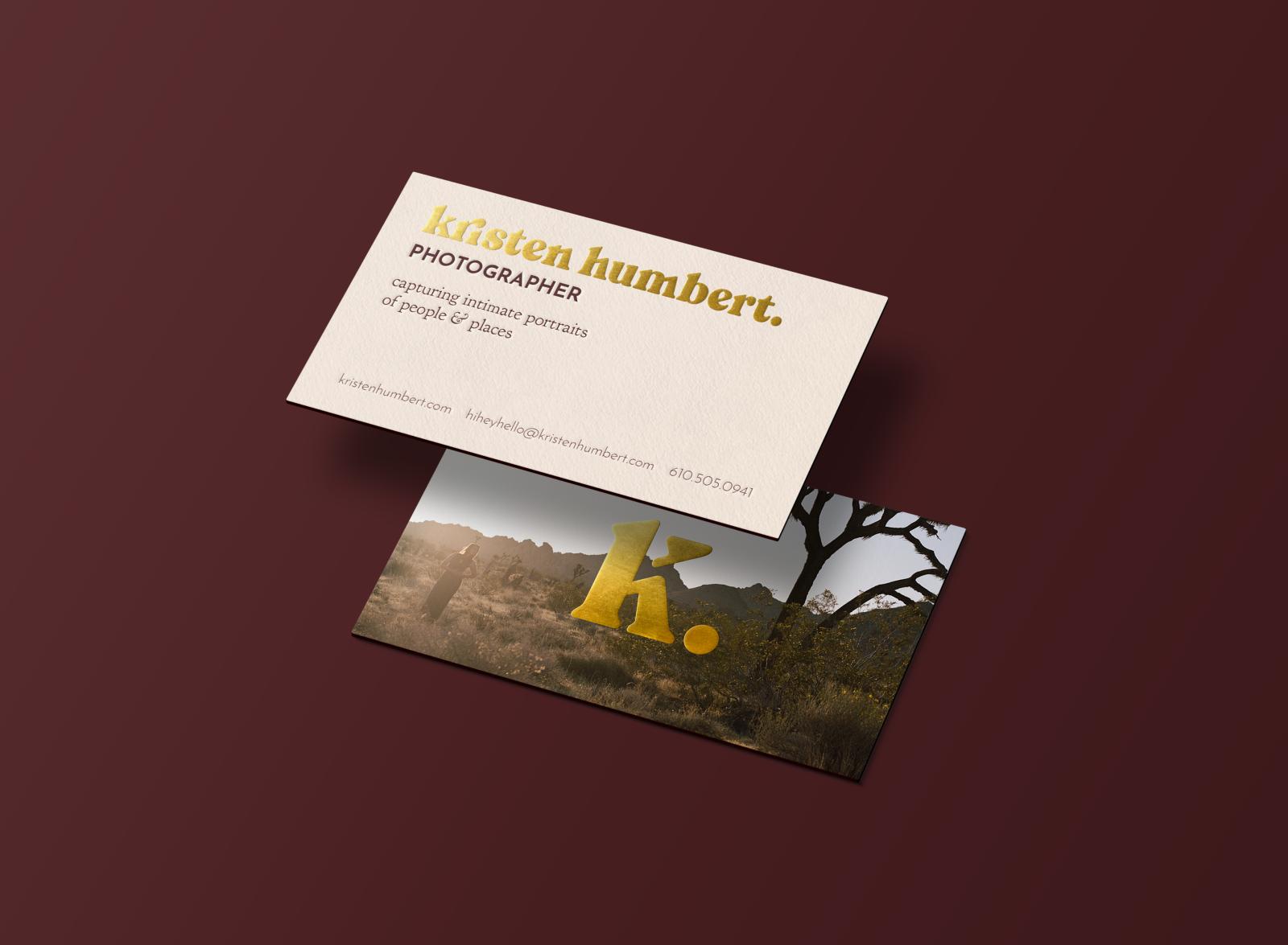 Kristen Humbert / Business Card 2