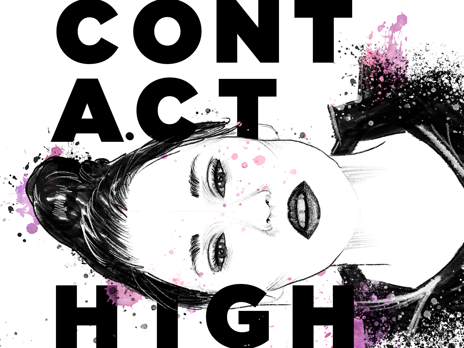 Contact High Illustration