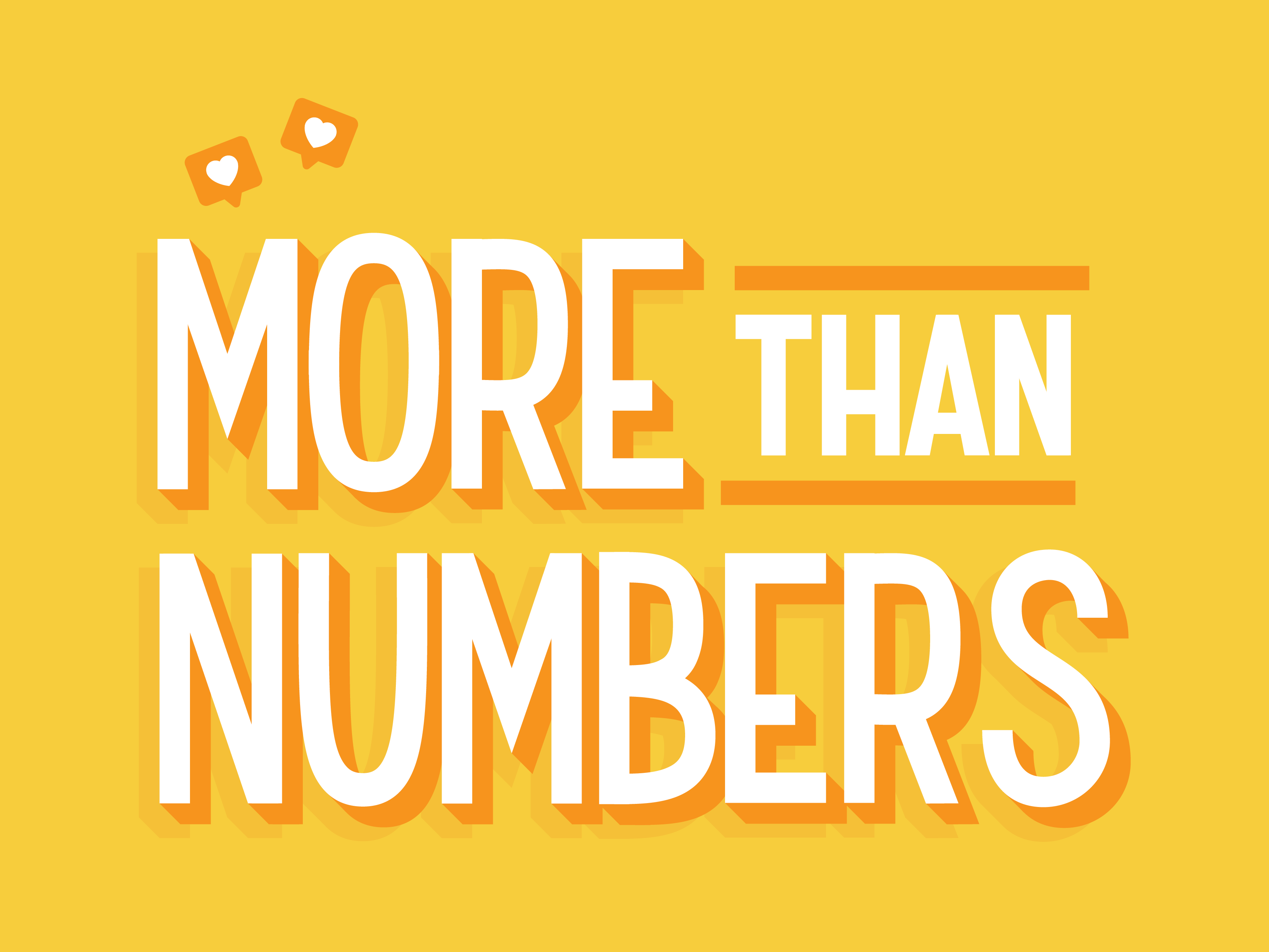 More Than Numbers