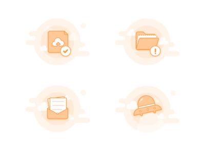 Illustration of default pages