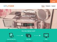 Home page splitzer
