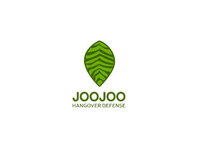 Joojoo eco leaf defense mark green