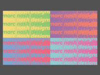 Potential business card backs
