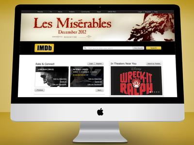 IMDb Website Redesign