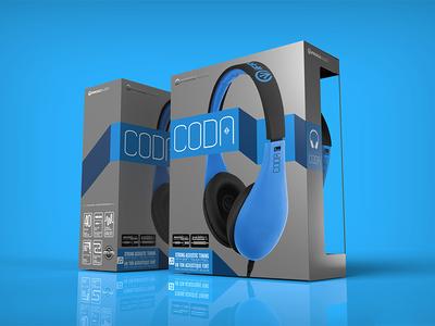 Coda Headphone Packaging