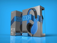 Coda Headphone Packaging