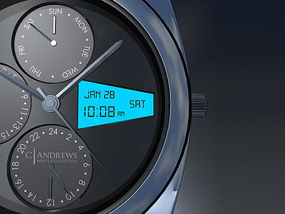 Watch Render 3d render 3d graphic design