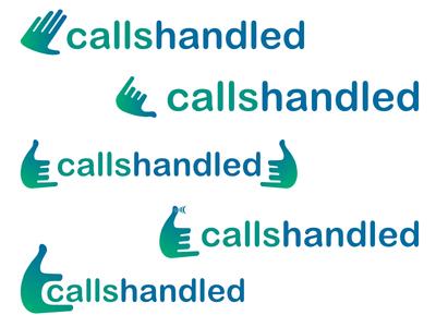 CallsHandled logo Concept