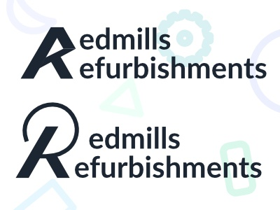 Redmills Refurbishment - Logo Concepts