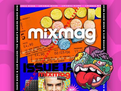90's Web Challenge - Mixmag mixmag 90s challenge web design use interface web design website ui