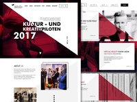 Kultur und Kreativpiloten Website
