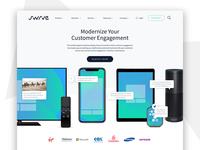 Swrve Homepage