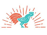 Alebrije Inspired Rooster
