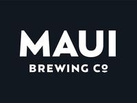 Maui Brewing Wordmark