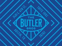 The Butler Bros. Shipping Sticker