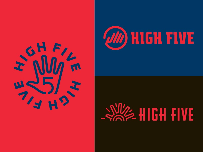 High Five Exploration logo hands high five