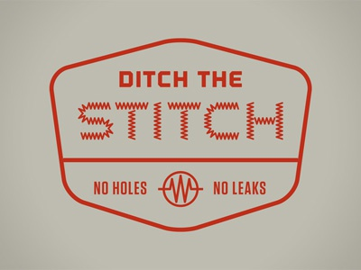 Ditch the stitch icon