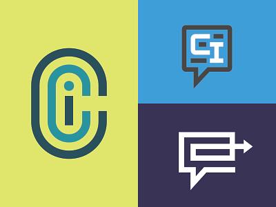 Commercial Insider Exploration branding logo designer commercial real estate logodesign