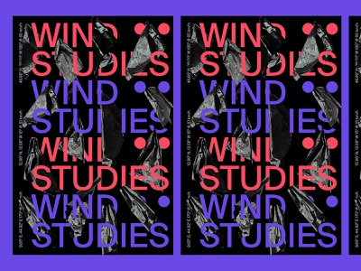 Wind Studies poster a day poster art graphic graphicdesign poster design poster illustration design typography