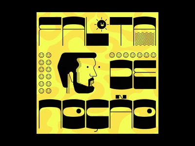 Comedy Series Identity graphic vector branding portrait icon illustration typography